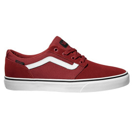 vans chapman stripe red black
