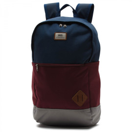 vans van doren III backpack Port royal/Navy/Grey
