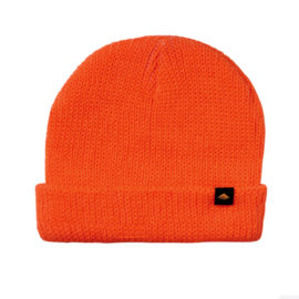 emerica triangle cuff beanie orange
