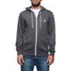 element cornell zip hoodie charcoal heather
