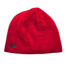 fox ride beanie dark red