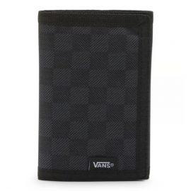 vans slipped pénztárca black gunmetal grey wallet VN000C32BA5