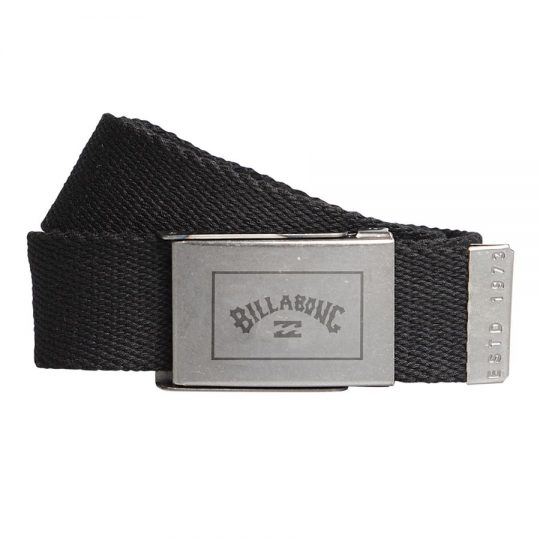 billabong sergeant belt black