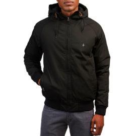 volcom herman kabát black
