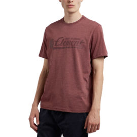 element signature póló oxblood heather
