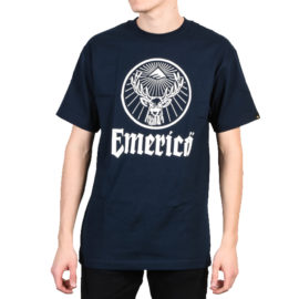 emerica hunted póló navy