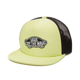 vans classic patch trucker sunny lime