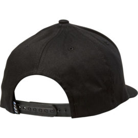 fox slash snapback sapka black