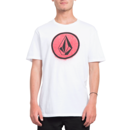 volcom spray stone póló white