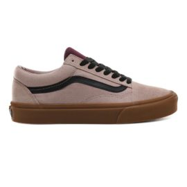vans old skool cipő (gum) shadow gray/prune