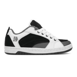 etnies czar cipő black white grey