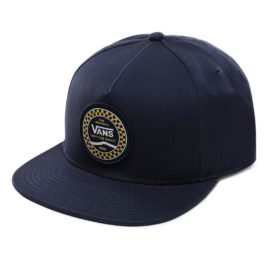 vans checkered side snapback sapka dress blues VN0A3I7ALKZ