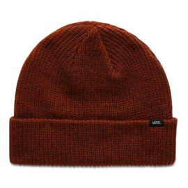 vans core basic beanie potters clay asphalt heater