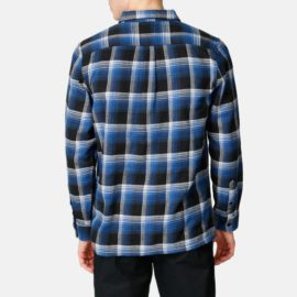 vans x anti hero wire flannel ing true black