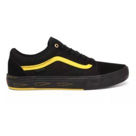 vans larry edgar old skool pro cipő black yellow VN0A45JUW8Q