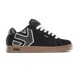 etnies fader cipő black white gum