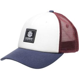 element icon mesh trucker sapka oxblood red