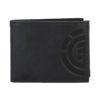 element daily leather pénztárca black