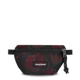 eastpak springer black hibiscus EK074B13
