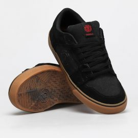 element heatley cipő black gum red