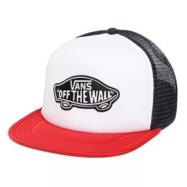 vans classic patch trucker racing red VN000H2VR30