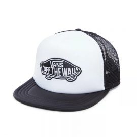 vans classic patch trucker white black VN000H2VYB2