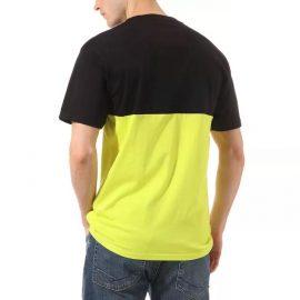 vans colorblock póló sulphur spring black VN0A3CZDYND