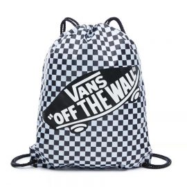 vans benched bag tornazsák black white checkerboard VN000SUF56M