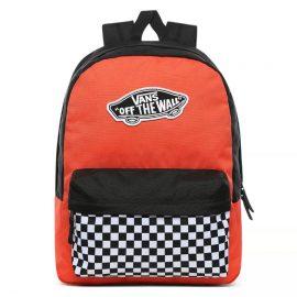 vans realm táska paprika checkerboard VN0A3UI6ZKF