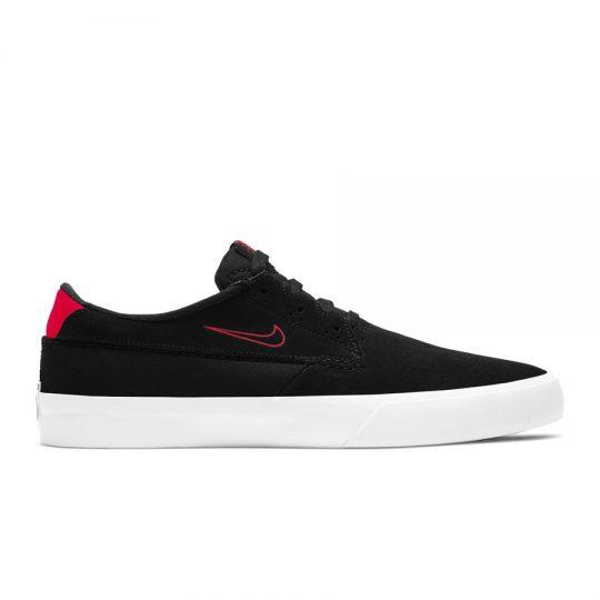 nike sb shane cipő BV0657-005 black bright crimson black white