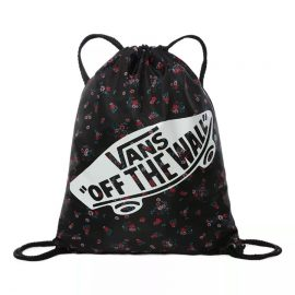 vans benched bag beauty floral black tornazsák VN000SUFZX3