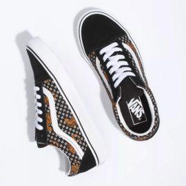 vans old skool cipő tiger floral VN0A38G119M vans cipő