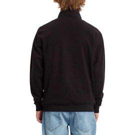 volcom hever crew black pulóver