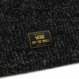 vans bruckner cuff beanie black heather VN0A3I5LBHH1