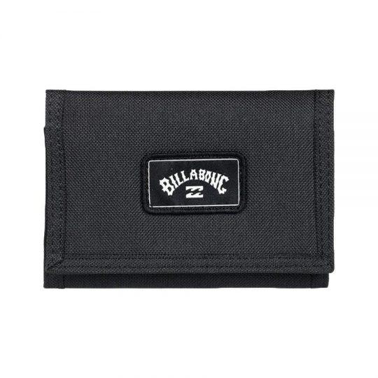 billabong 1973 black pénztárca
