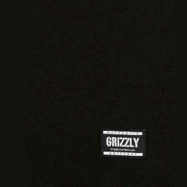 grizzly stamp black póló