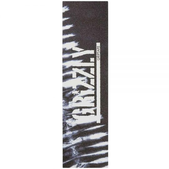 grizzly tie dye griptape black
