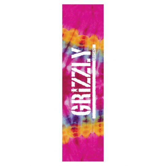 grizzly tie dye griptape pink