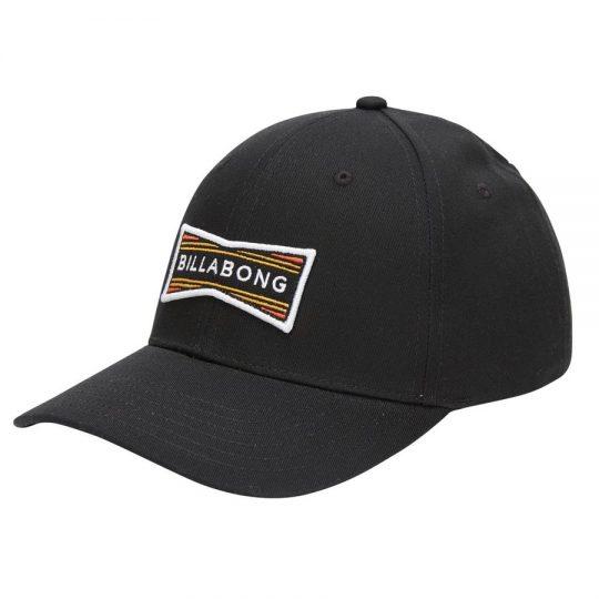 billabong walled snapback black