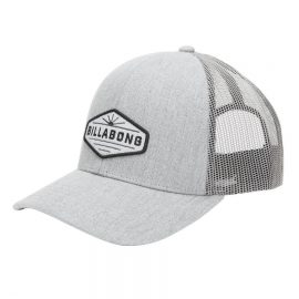 billabong walled trucker grey heather