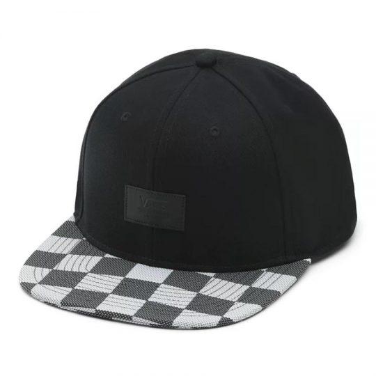 vans allover it sapka black white checker