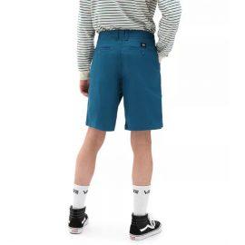 vans authentic strech rövidnadrág morrocan blue