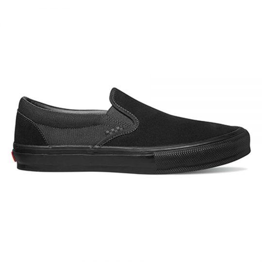 vans skate slip-on cipő black VN0A5FCABKA1