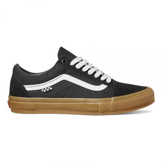 vans skate old skool cipő black gum VN0A5FCBB9M1