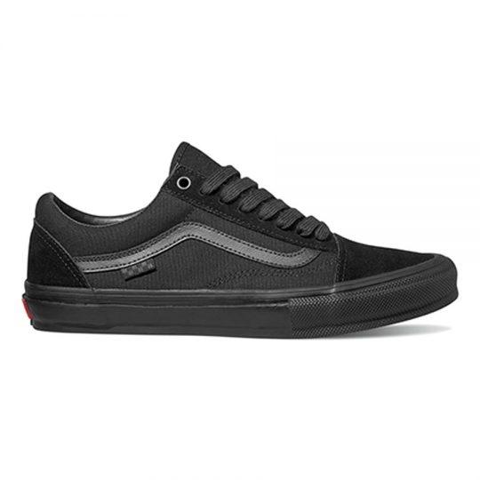 vans skate old skool cipő black black VN0A5FCBBKA1