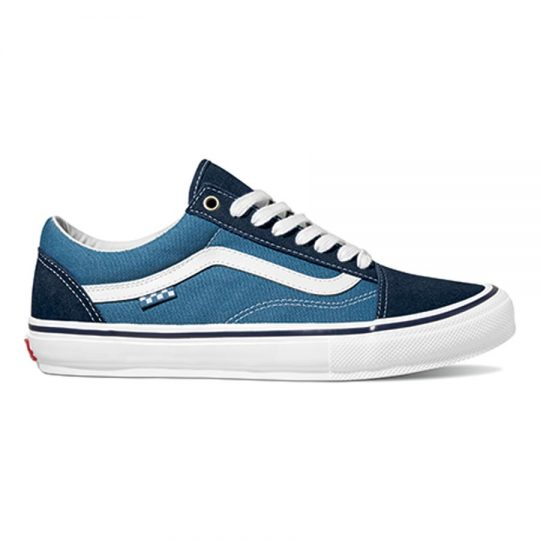 vans skate old skool cipő navy white VN0A5FCBNAV1