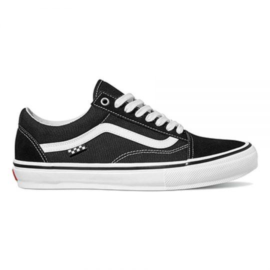 vans skate old skool cipő black white VN0A5FCBY281