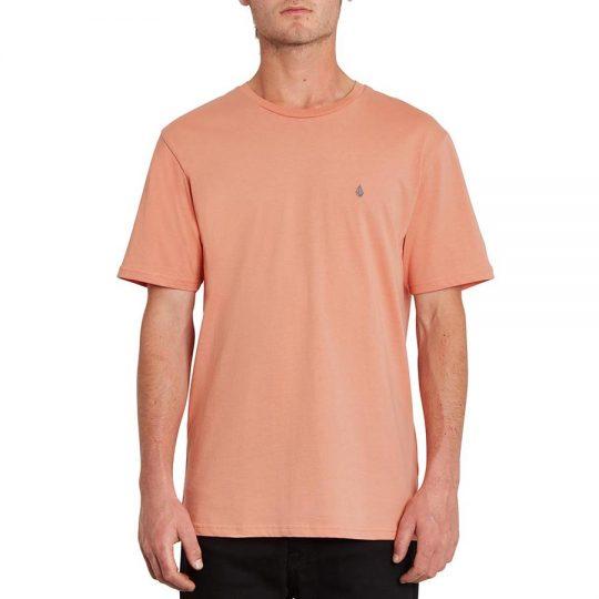 volcom stone blanks póló clay orange volcom stone t-shirt
