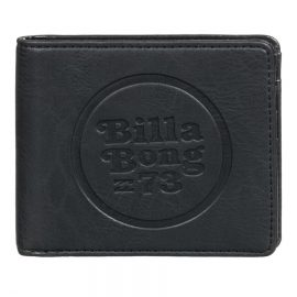 billabong walled id black pénztárca