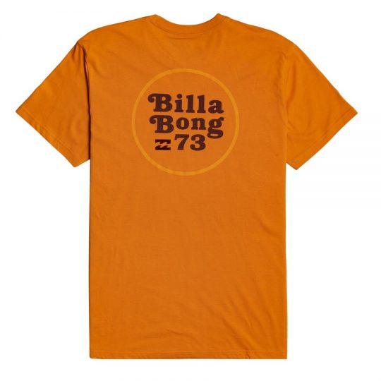 billabong walled dusty orange póló